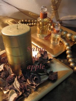 salon de apple table