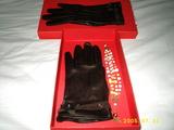 手袋とブレス