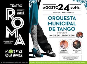 afiche orquesta de tango 24-08-01