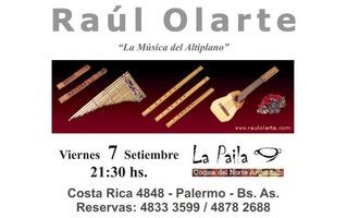 FOLKORE en La Paila - Viernes 7 Setiembre