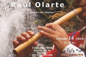 FOLKLORE en La Paila  Sab 14 Abril