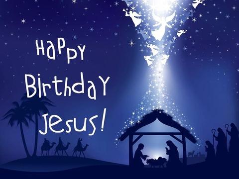 happy b-day jesus