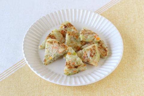 豆腐のもっちりお好み焼き (2)
