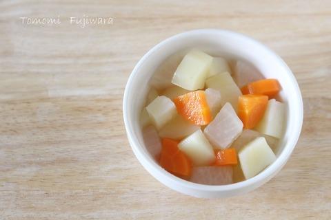 万能!3種の根菜煮 (1)n