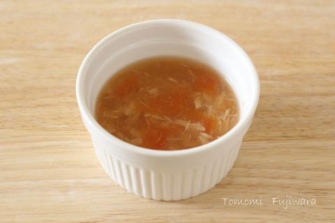 ツナとトマトのスープ (1)n
