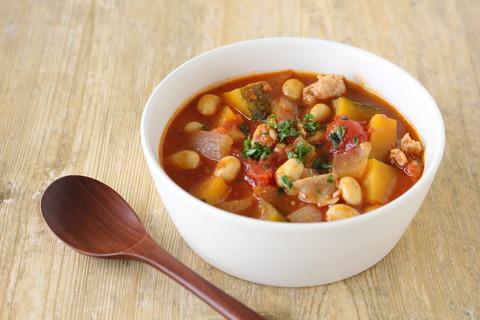 具だくさんトマト味噌スープ (5)