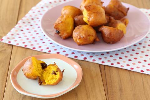 ホットケーキミックスで作る!かぼちゃドーナツ (9)