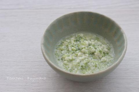 ブロッコリーと豆腐のだし煮n