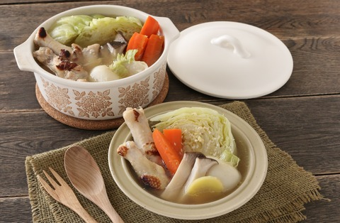 味付けは塩麹だけ♪ごろごろ野菜のジンジャーポトフ (5)-1