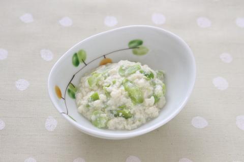 枝豆ときゅうりの白和え (2)