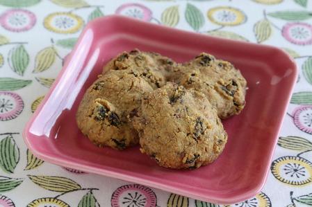 レーズン黒糖クッキー  (2)