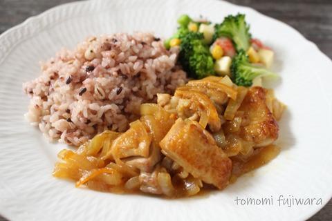 鶏のマーマレード焼き (7)n