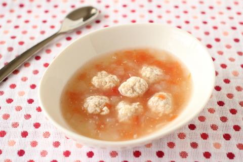 お豆腐だんごのトマト煮込み (5)