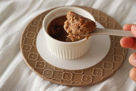 少量から作れる!ココアチーズケーキ (8)