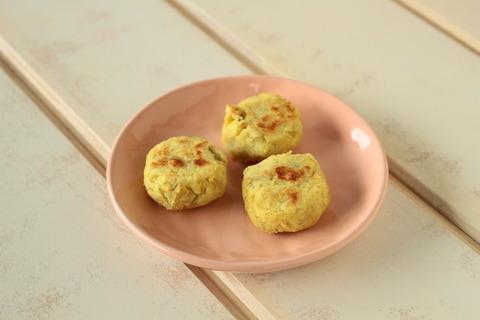 【離乳食】さつまいものミルクお焼き (4)