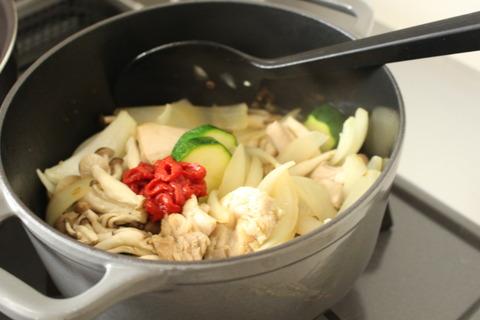 鶏肉のトマト煮込み (4)