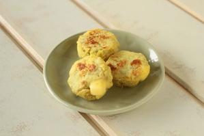 【離乳食】さつまいもとチーズのミルクお焼き (6)