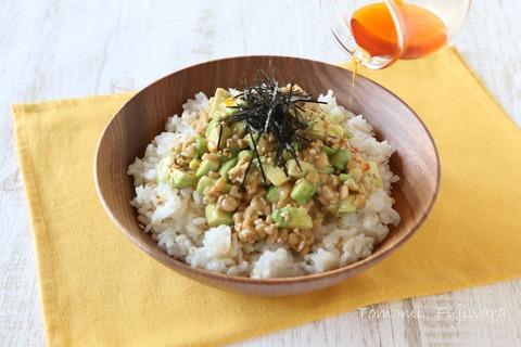 アボカド納豆丼(4)n