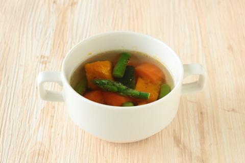 【野菜だしで作る】洋風ビタミンスープ (6)