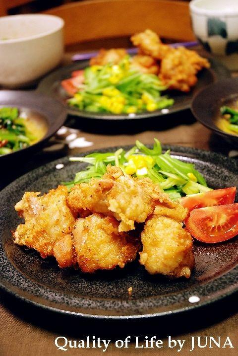 鶏の唐揚げ と 好きな食べ物ランキングっ