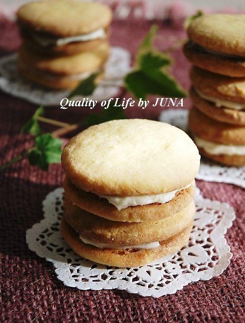 クリームチーズサンドクッキー
