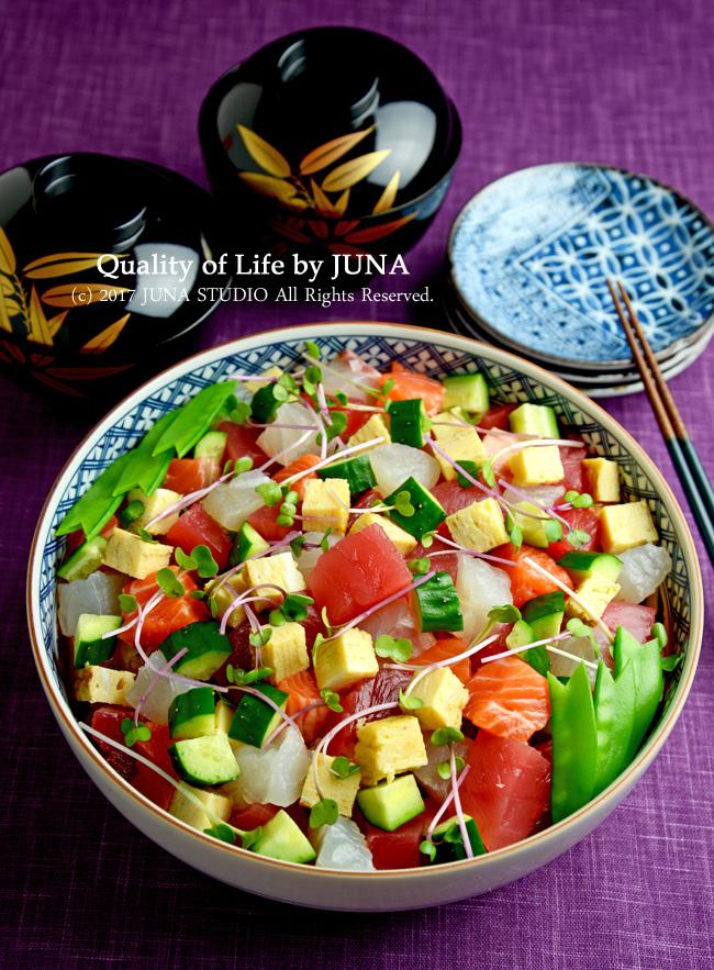 ひな祭りや卒業のお祝いに☆彩り鮮やかコロコロちらし寿司 そして今どきの第二ボタンの事情