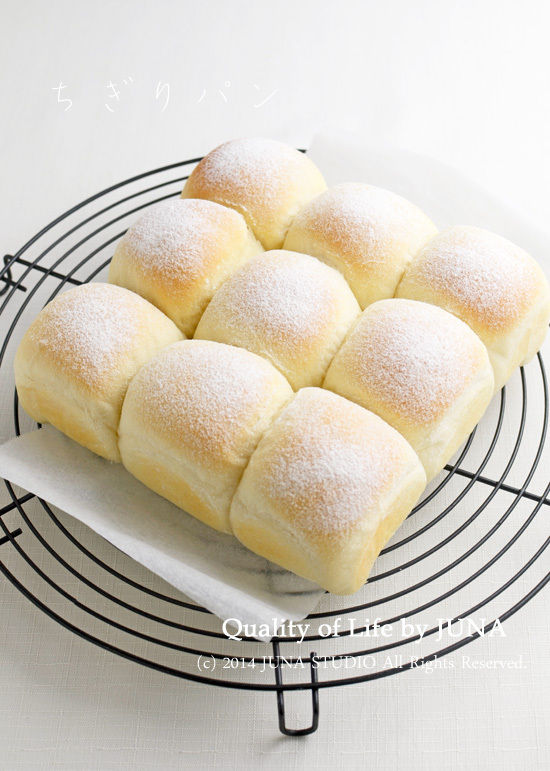 ふんわり&もっちりちぎりパン