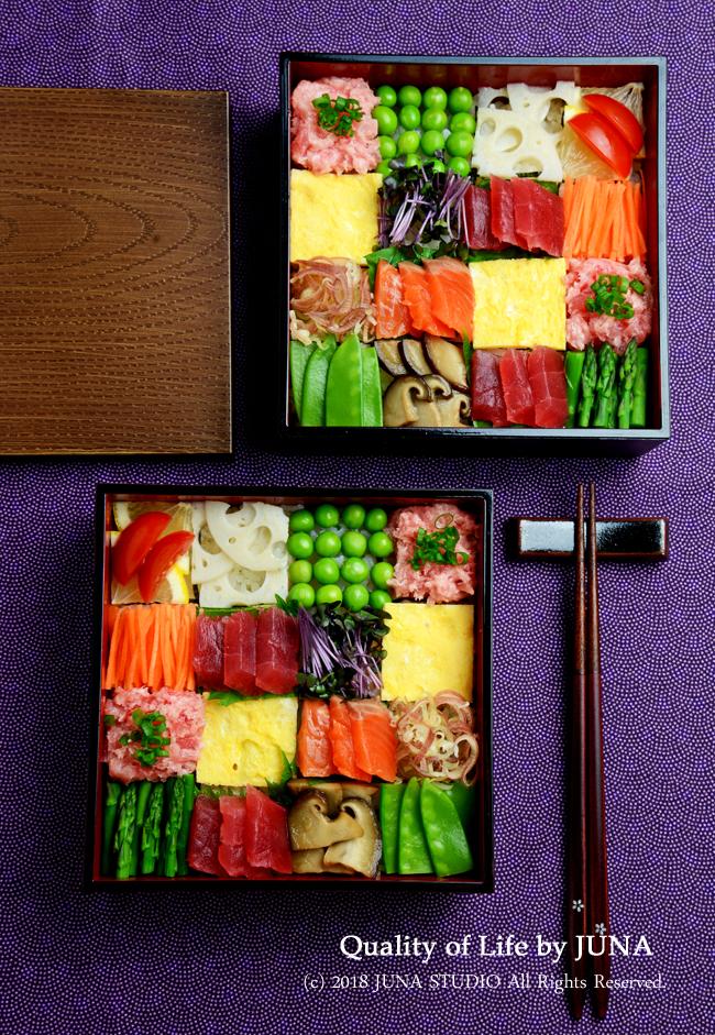【GWのおもてなしに】彩り華やかモザイク寿司