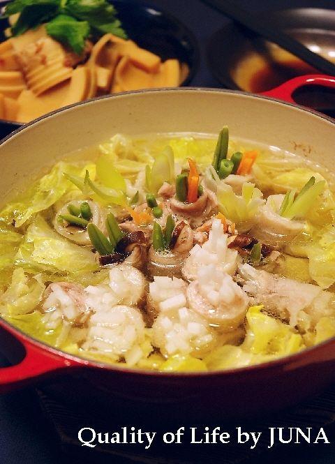 二度おいしい春野菜の肉巻き鍋 と 今年初のたけのこ