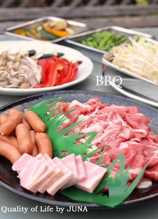 BBQ→牛丼弁当