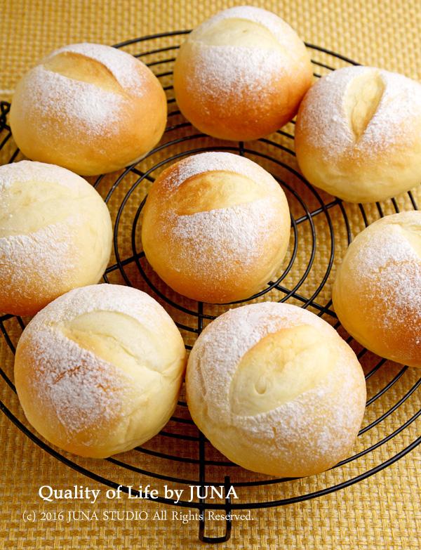【卵なし・HBでOK】シンプルまるパン