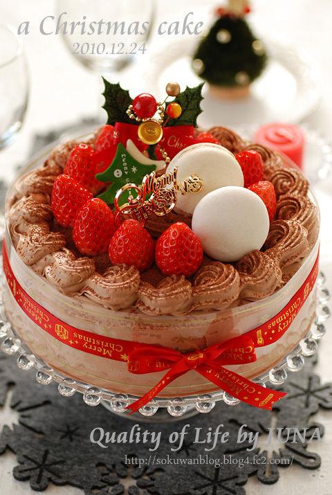 2010 クリスマスケーキ