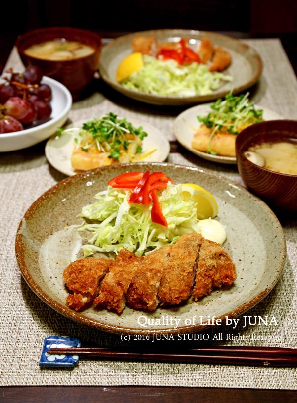 チキンカツ→チキンカツサンド