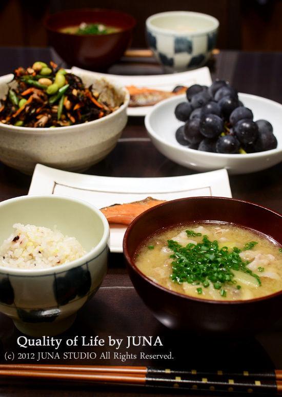 和食とか干し芋とか。