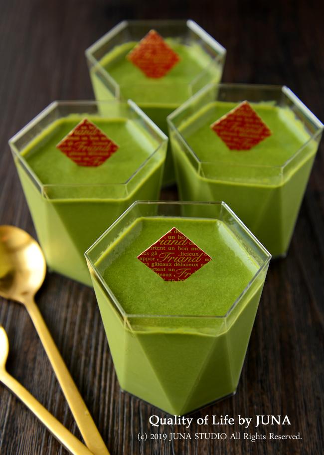 【中高年の殿方&更年期のおくさまにおくるw】抹茶チョコ&豆乳クリームの罪悪感少なめムース<簡単レシピ>
