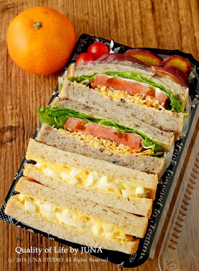 【今日の娘弁】サンドイッチ弁当