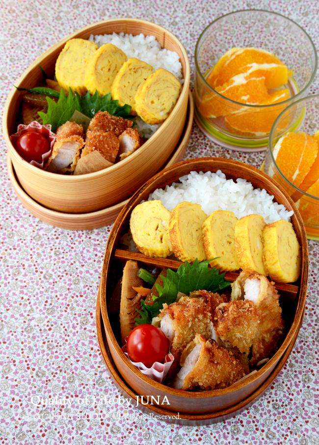 【今日のおべんと】味つきとんかつ弁当