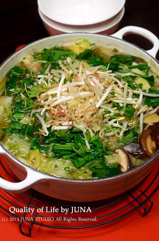 野菜もりもり鍋
