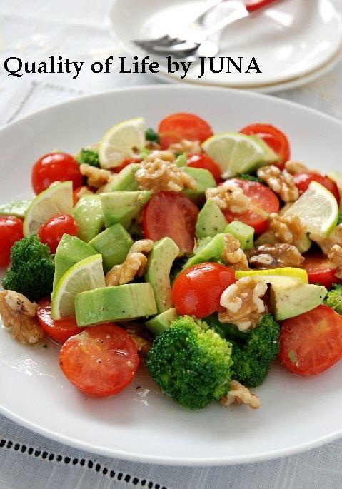 カラフル野菜とくるみのサラダ