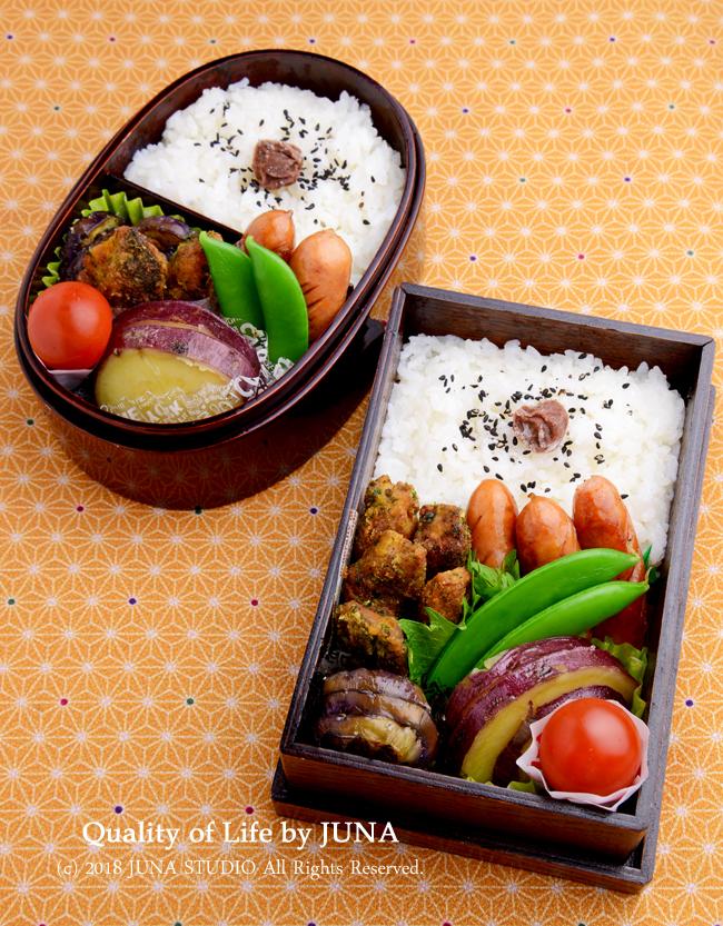 【今日のおべんと】さばの竜田焼きカレー風味弁当