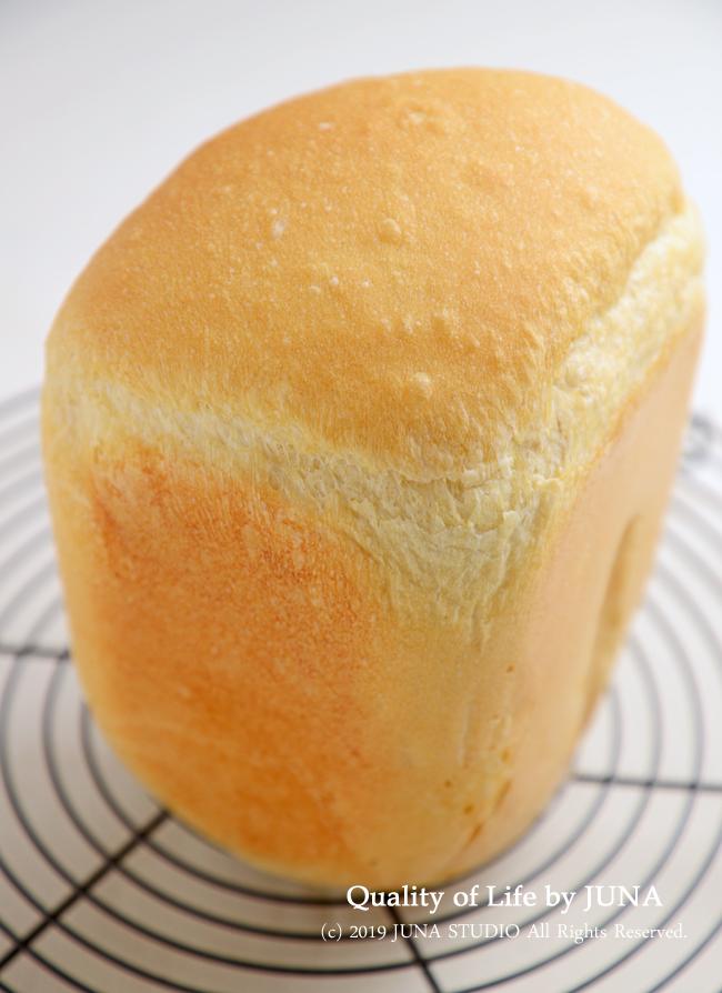 ホシノ天然酵母で食パンを焼いてみました・・・ホームベーカリーがw