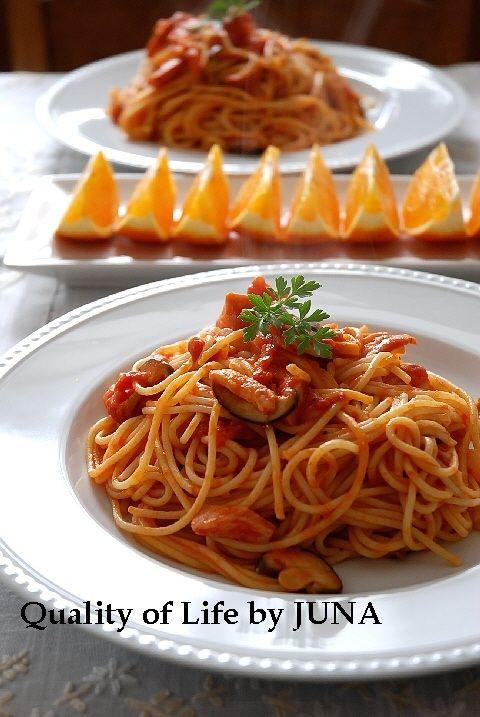 トマトとチーズのパスタ パート2