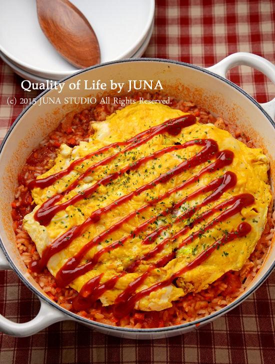 鍋焼きオムライス