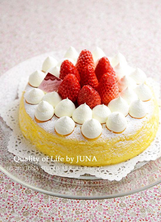 JUNA夫さんの誕生日ケーキ♪