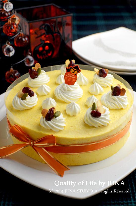 かぼちゃのムースケーキ