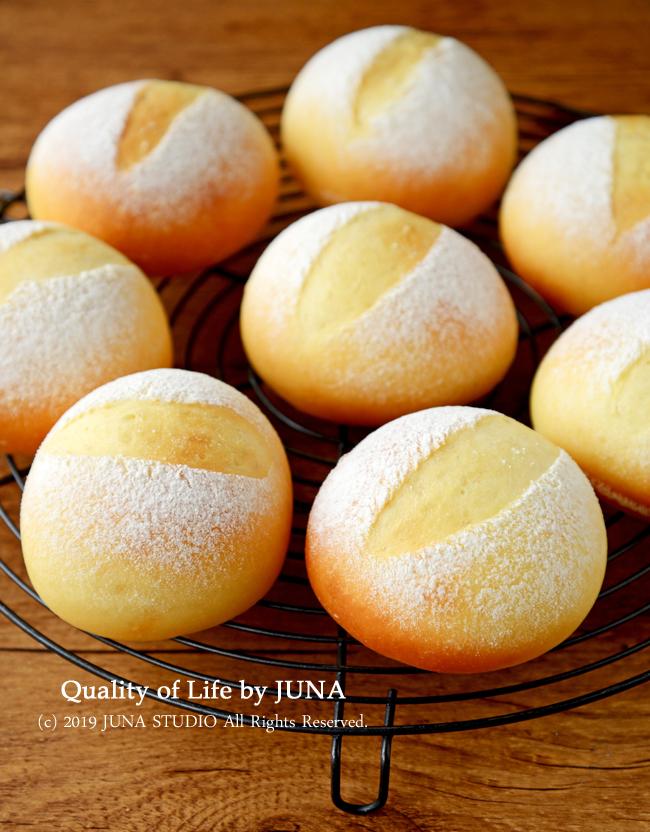 低温発酵で作る丸パン/家族そろったので手羽から揚げを作りました