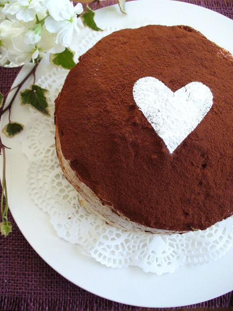 バレンタイン まだ間に合うわ!ティラミスケーキ