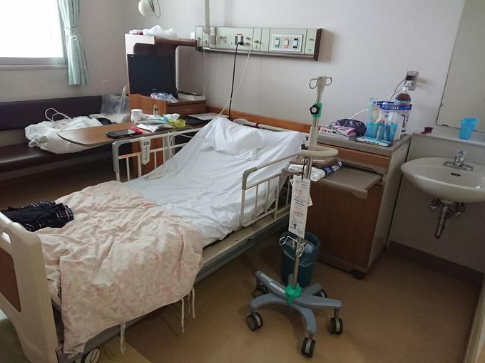 子宮内膜症 左右付属器摘出 術後3~4日目(入院5~6日目)