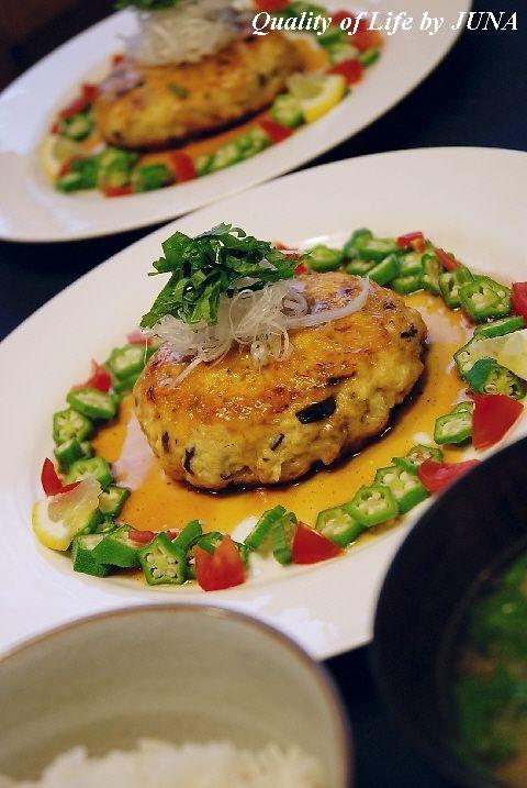 ダイエットに豆腐ハンバーグ