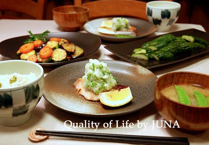 ブリをさっぱりおいしく頂くシンプルな食べ方